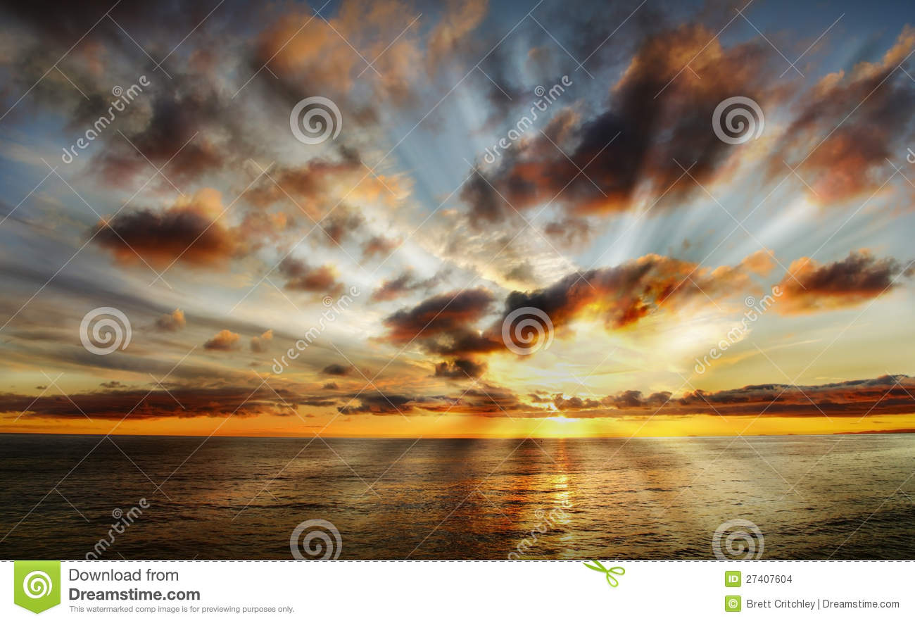 Beautiful Stock Photos Beautiful heavenly sunset