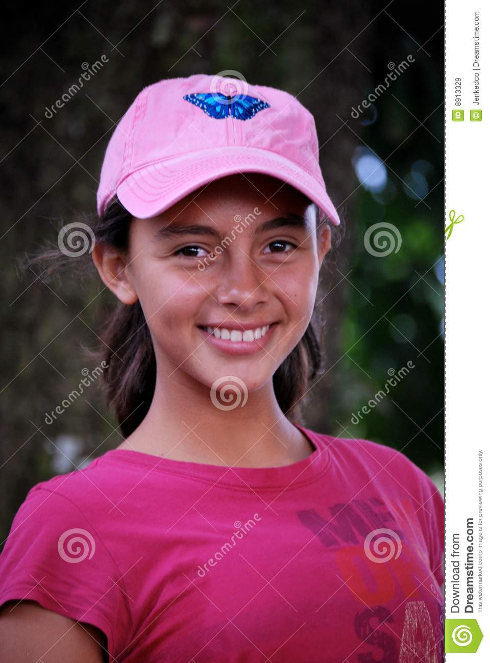 beautiful hispanic pre teen royalty free stock images