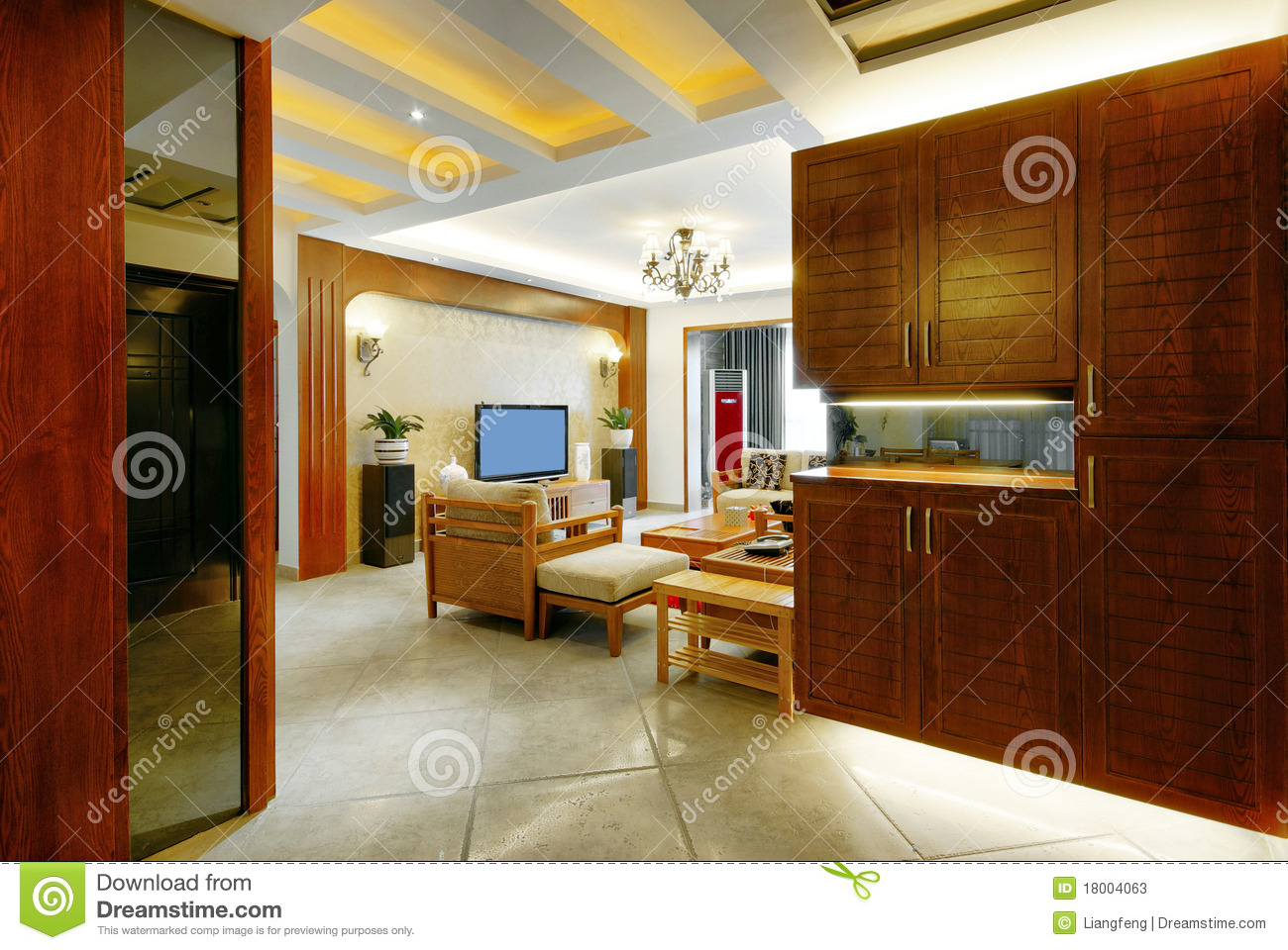Beautiful Home Decor Stock Image. Image Of Layout, Home