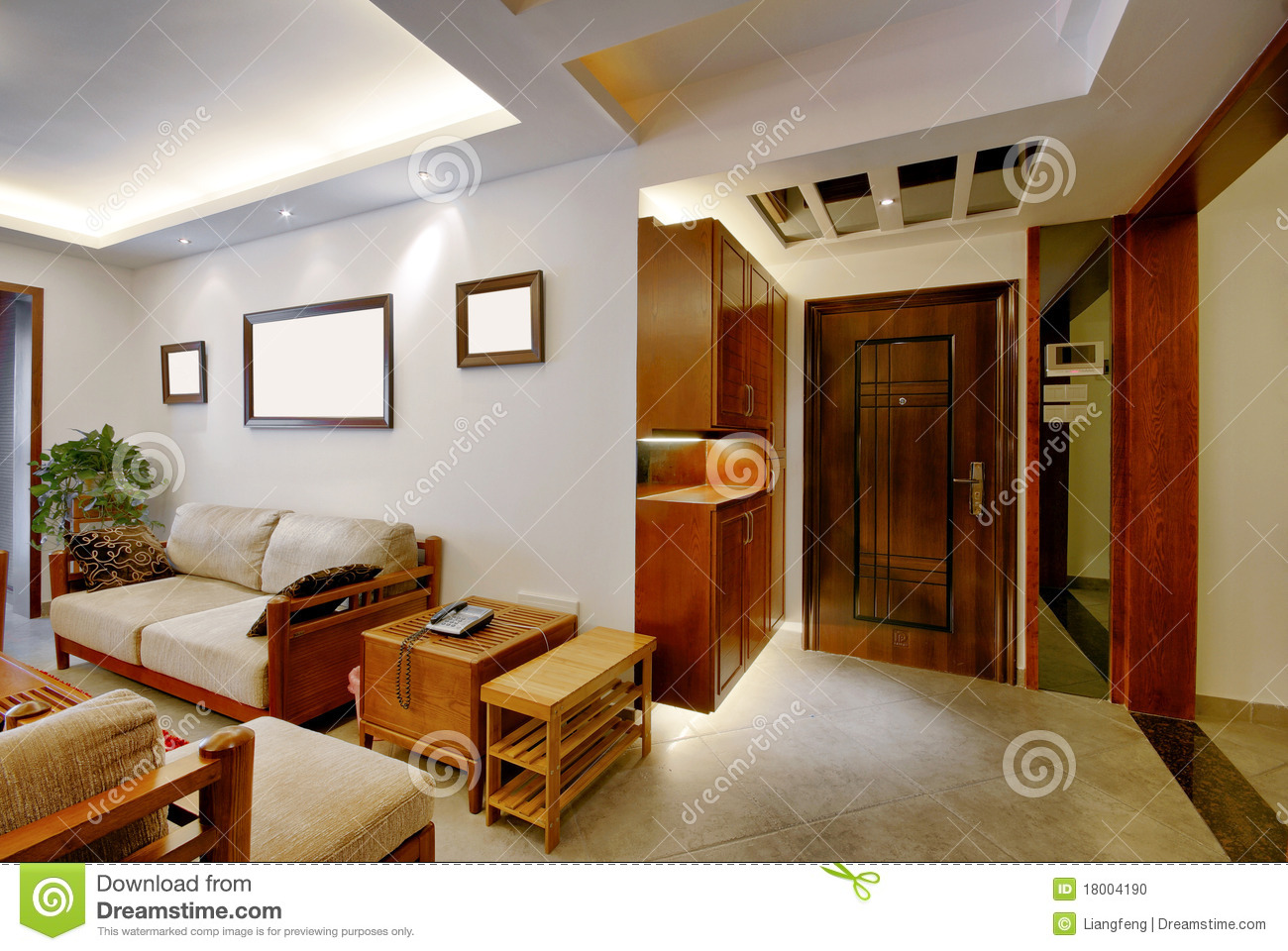 Beautiful home decor stock photo image 18004190 for Beautiful home decorations