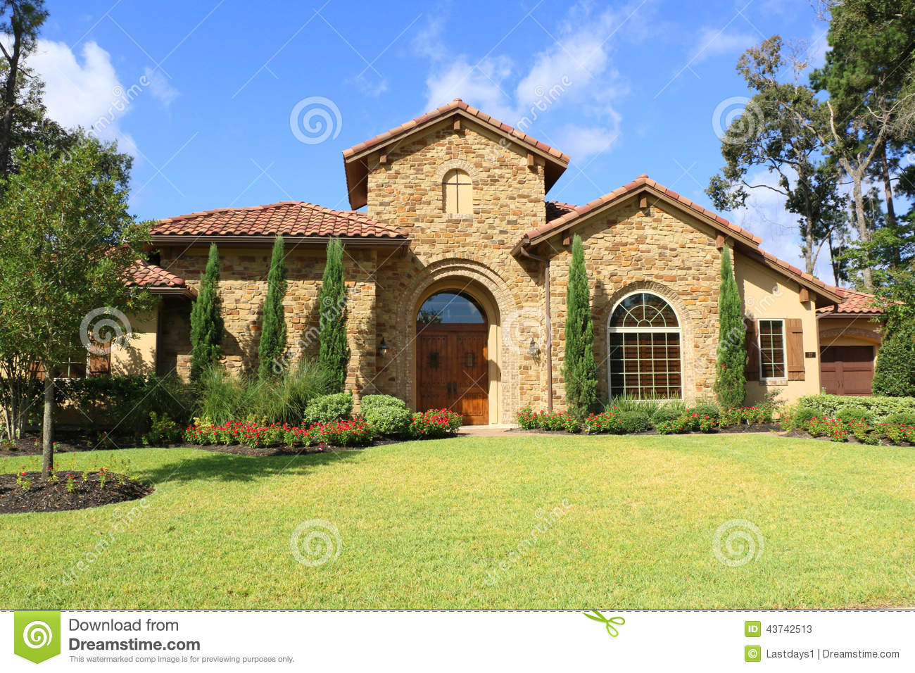 Beautiful homes stock photo image 43742513 for Very pretty houses