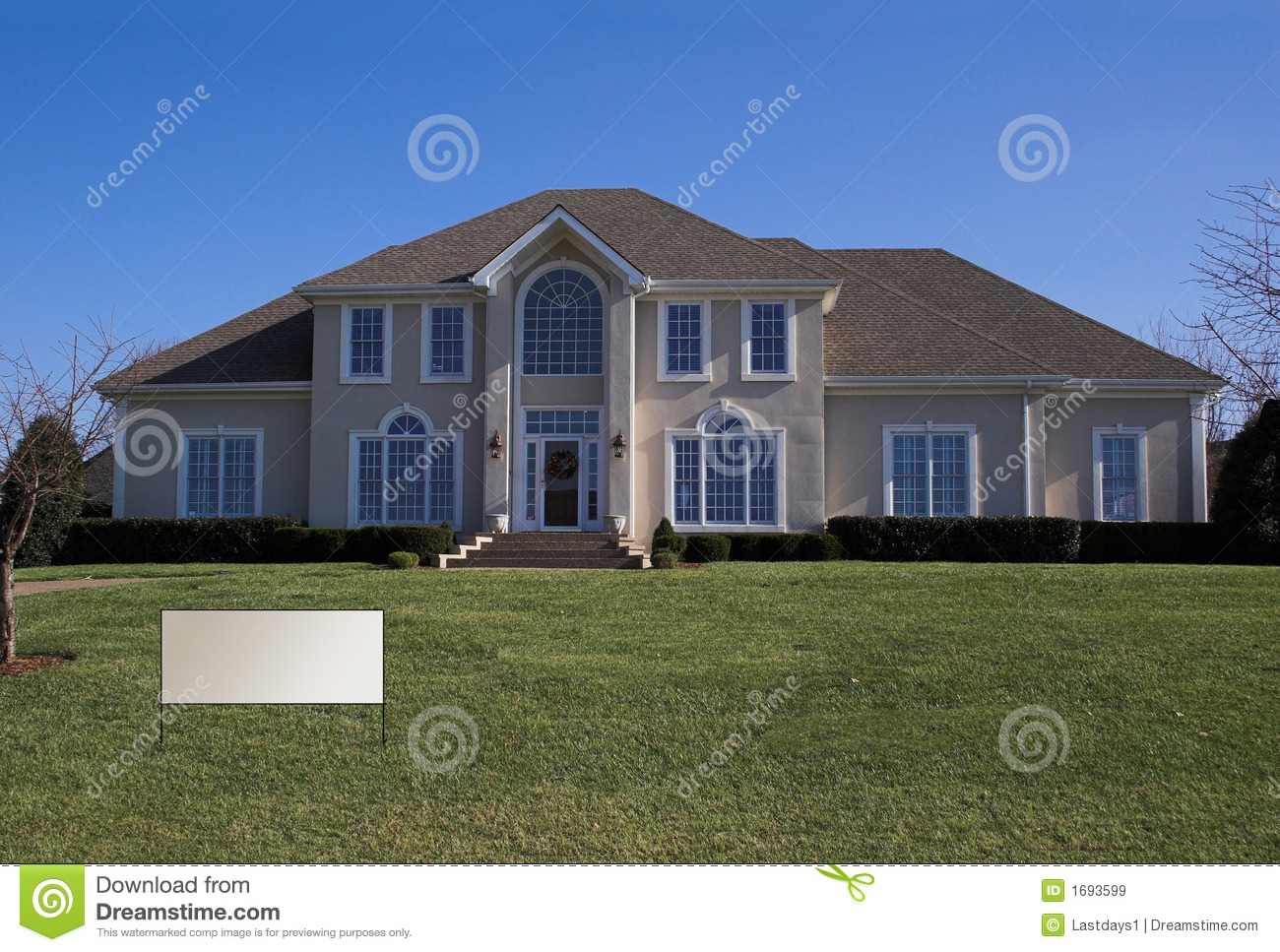 Beautiful homes series b4 royalty free stock images - A beautiful home ...