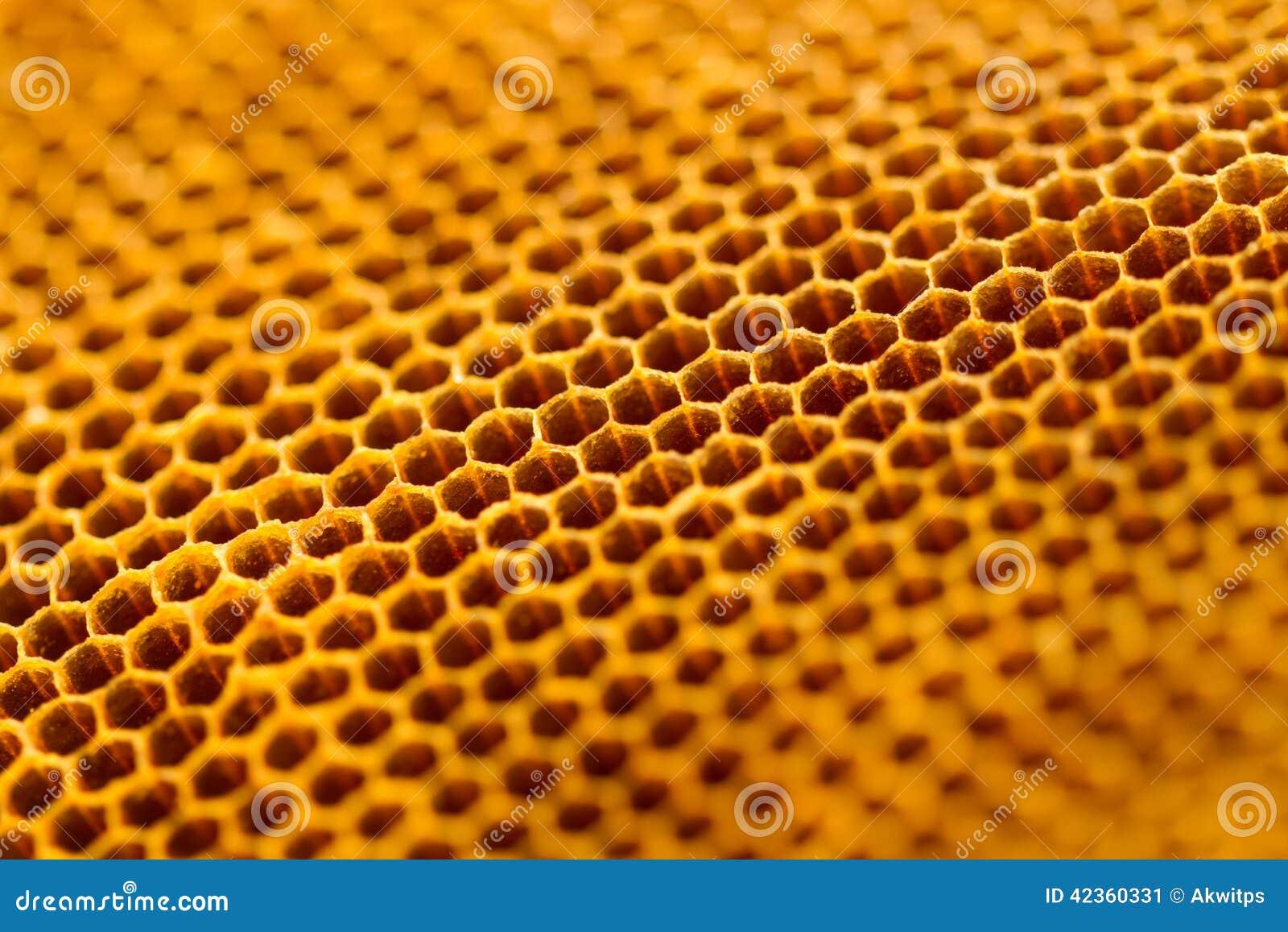Raw honey texture