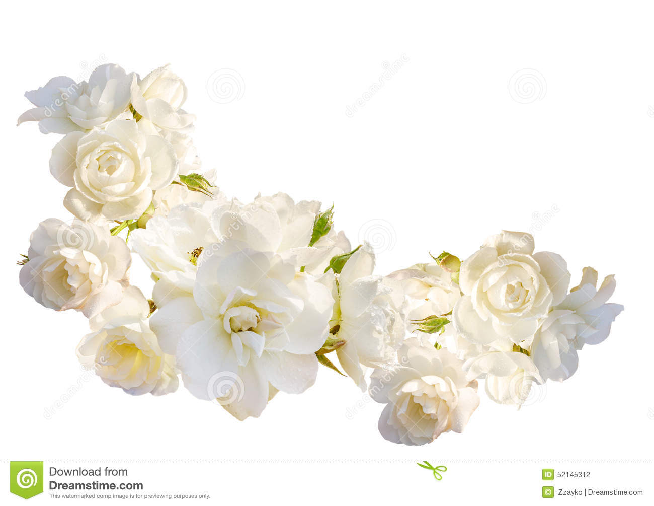 Beautiful horizontal frame with bouquet of white roses for Bouquet roses blanches