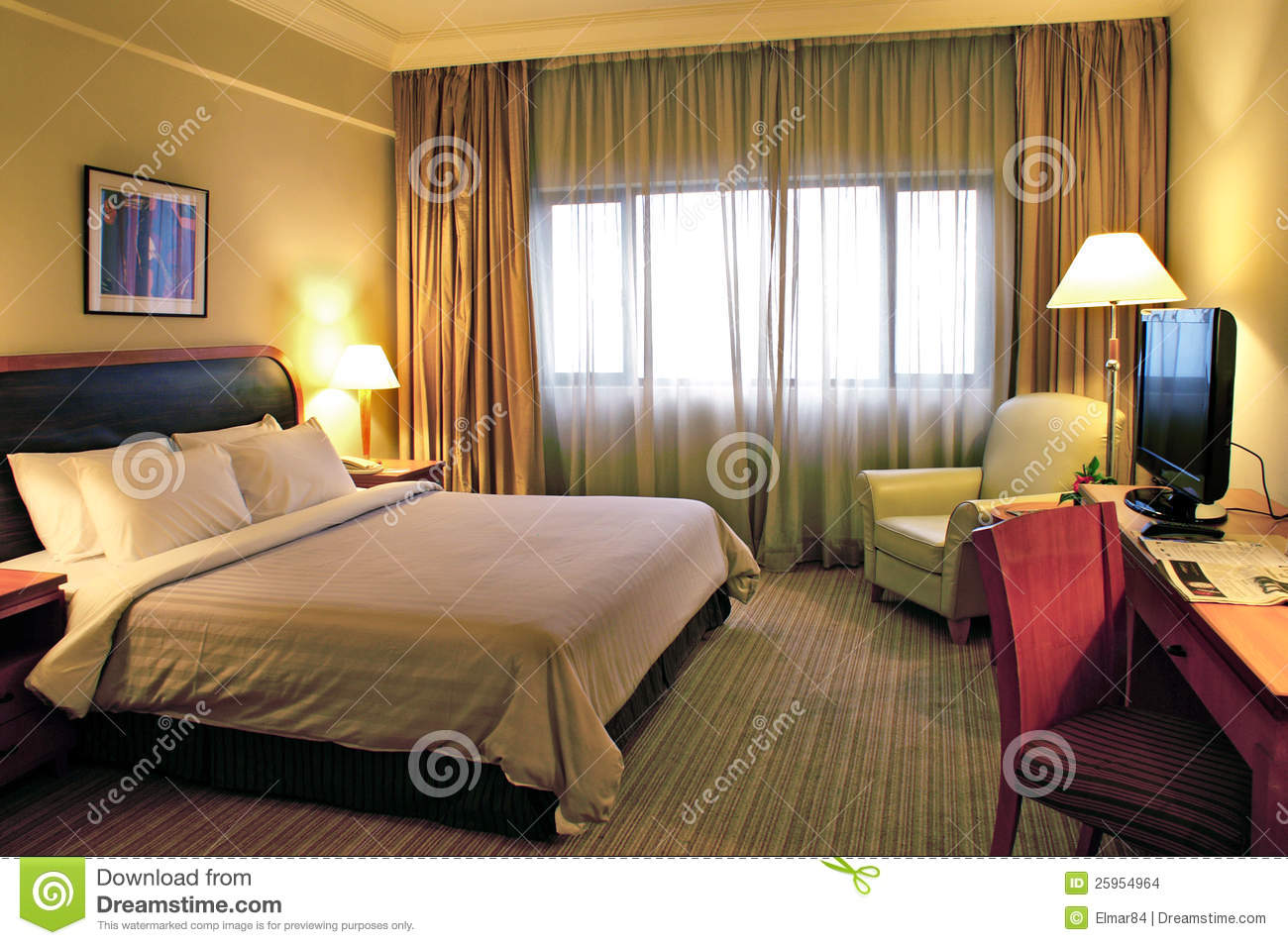 Beautiful Hotel Room Stock Images Image 25954964