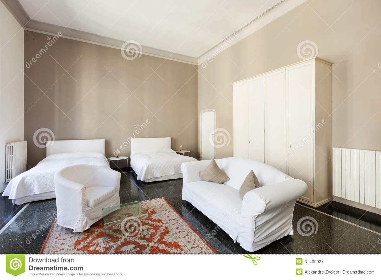 Beautiful hotel room royalty free stock photography for Beautiful hotels