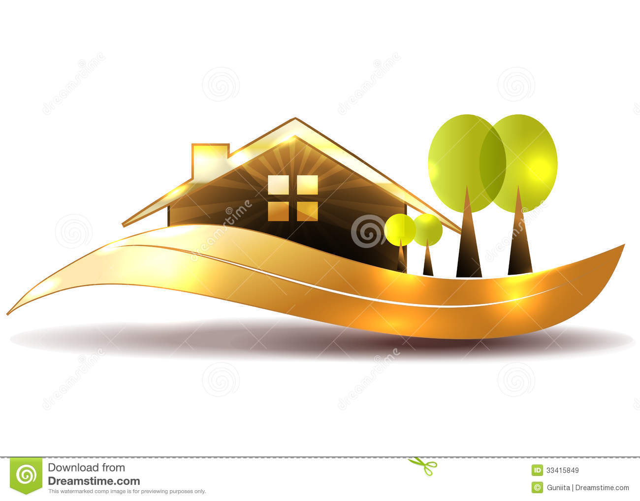 Beautiful House Royalty Free Stock Images Image 33415849