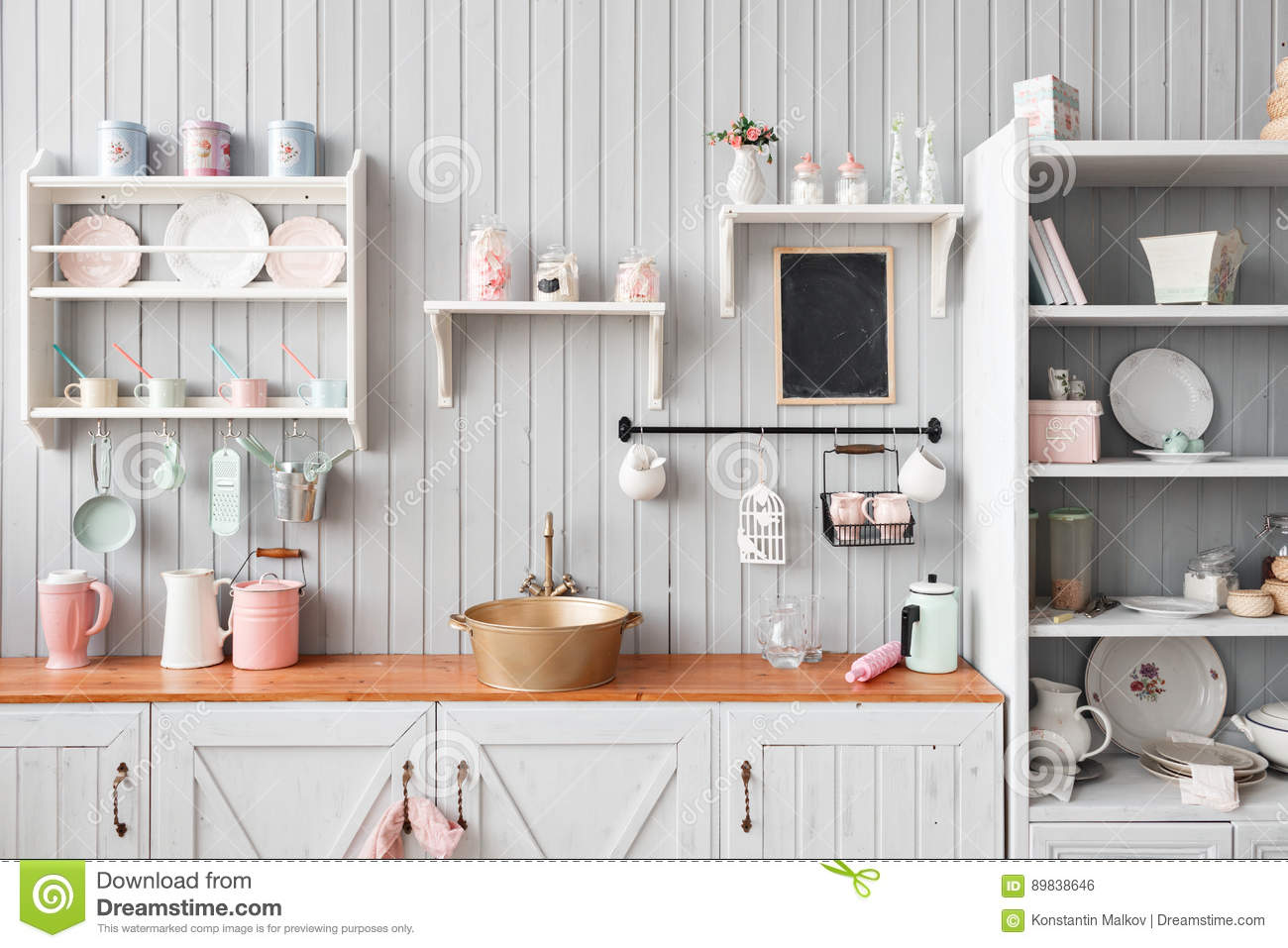Beautiful house interior view of the kitchen stock photo image 89838646 - Beautiful houses interior kitchen ...