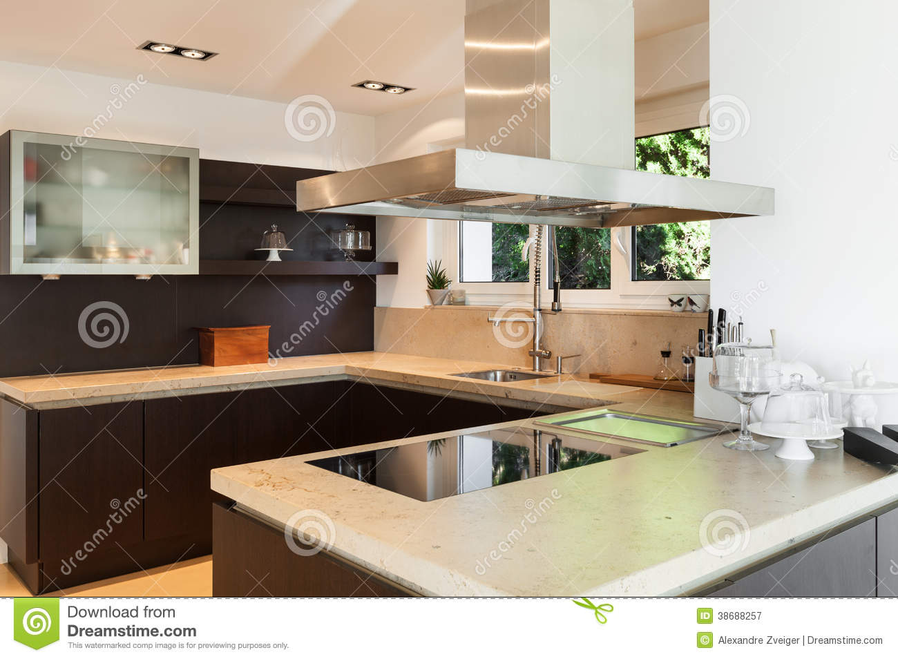 Beautiful house royalty free stock photography image 38688257 - Beautiful houses interior kitchen ...