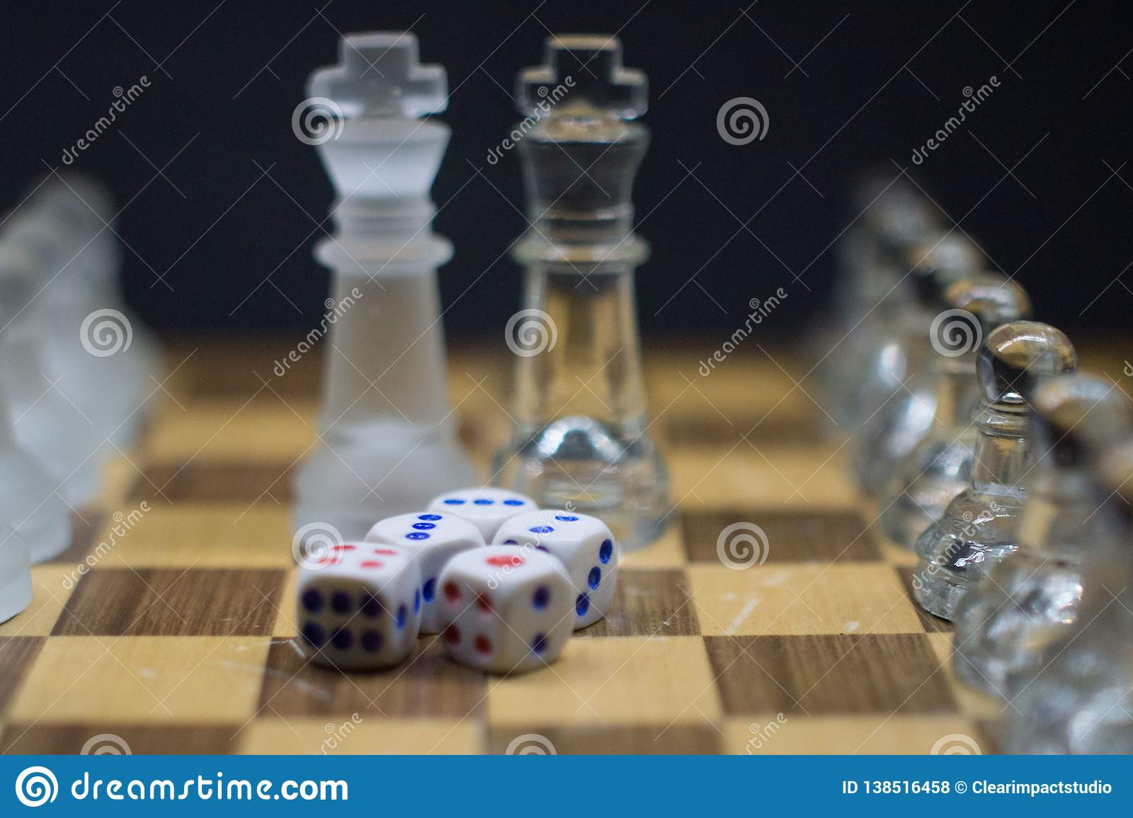 A set of 5 Dices