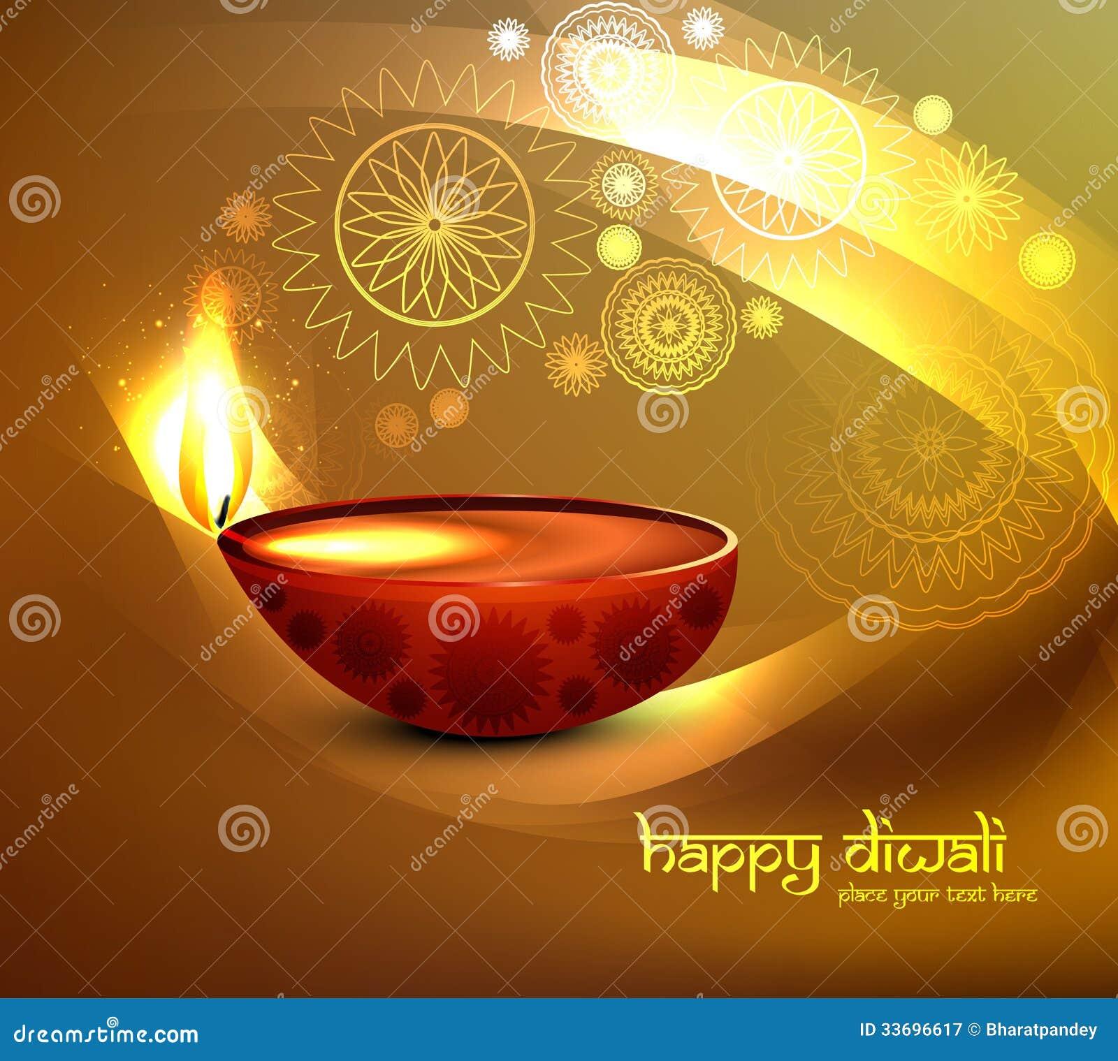 Beautiful illustration for happy diwali greeting c stock vector beautiful illustration for happy diwali greeting card bright colorful background m4hsunfo