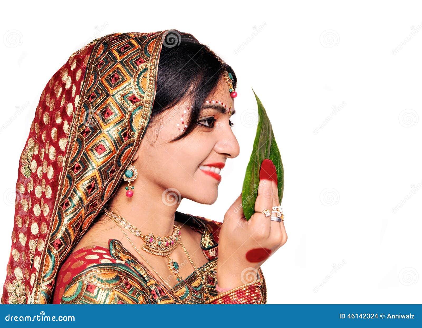 Beautiful Indian Bride During Wedding Ceremony Happy Bengali In Saree Stock Images