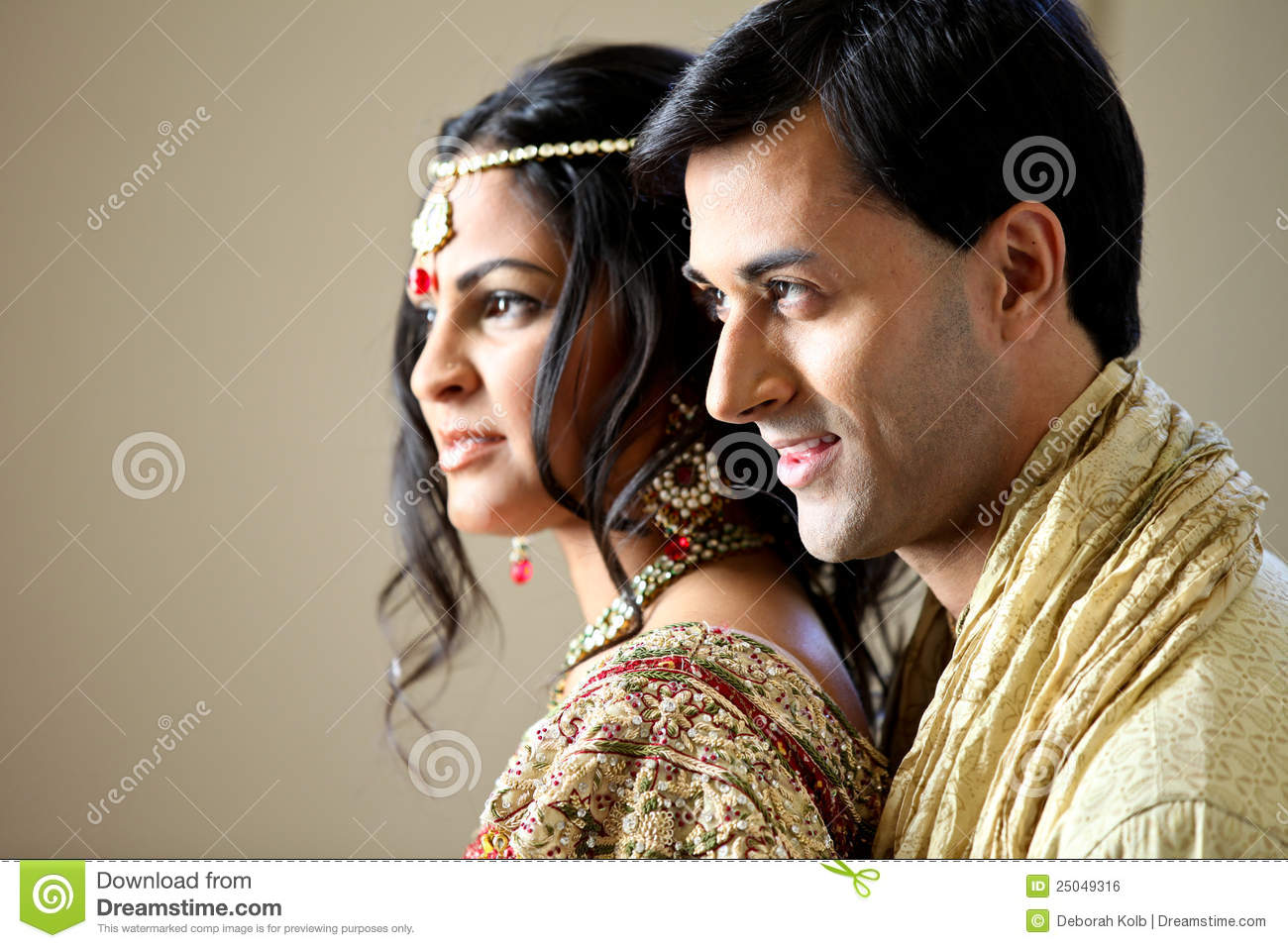 Beautiful Indian Couple Stock Photo Image Of Bride Body 25049316