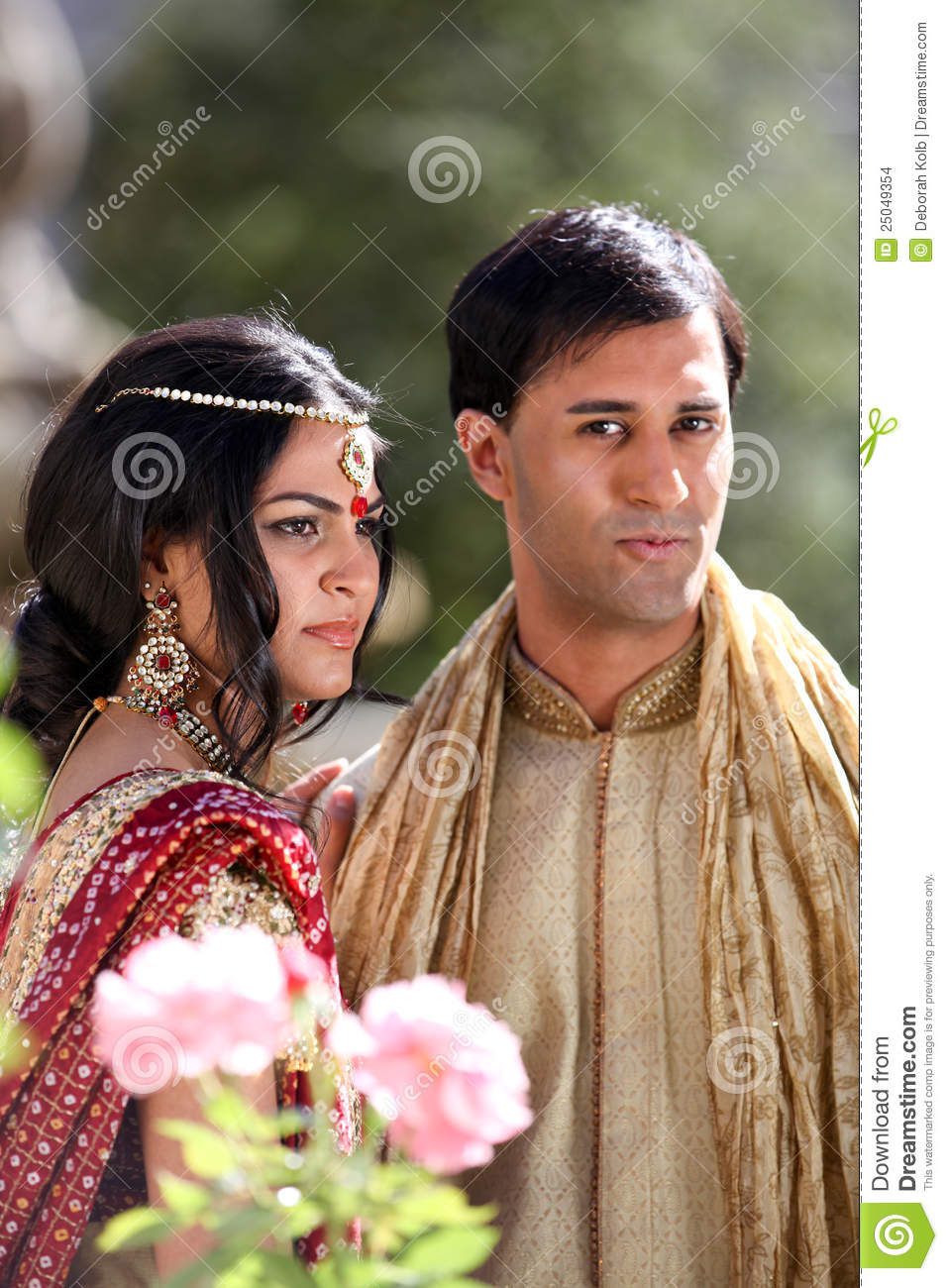 Beautiful Indian Couple Stock Photo Image Of Culture 25049354
