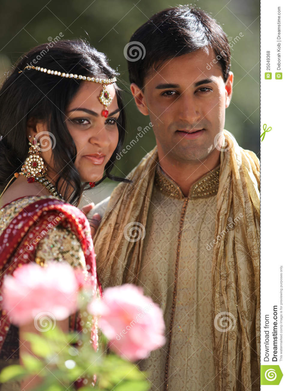 Beautiful Indian Couple Stock Photo Image Of Beauty 25049368