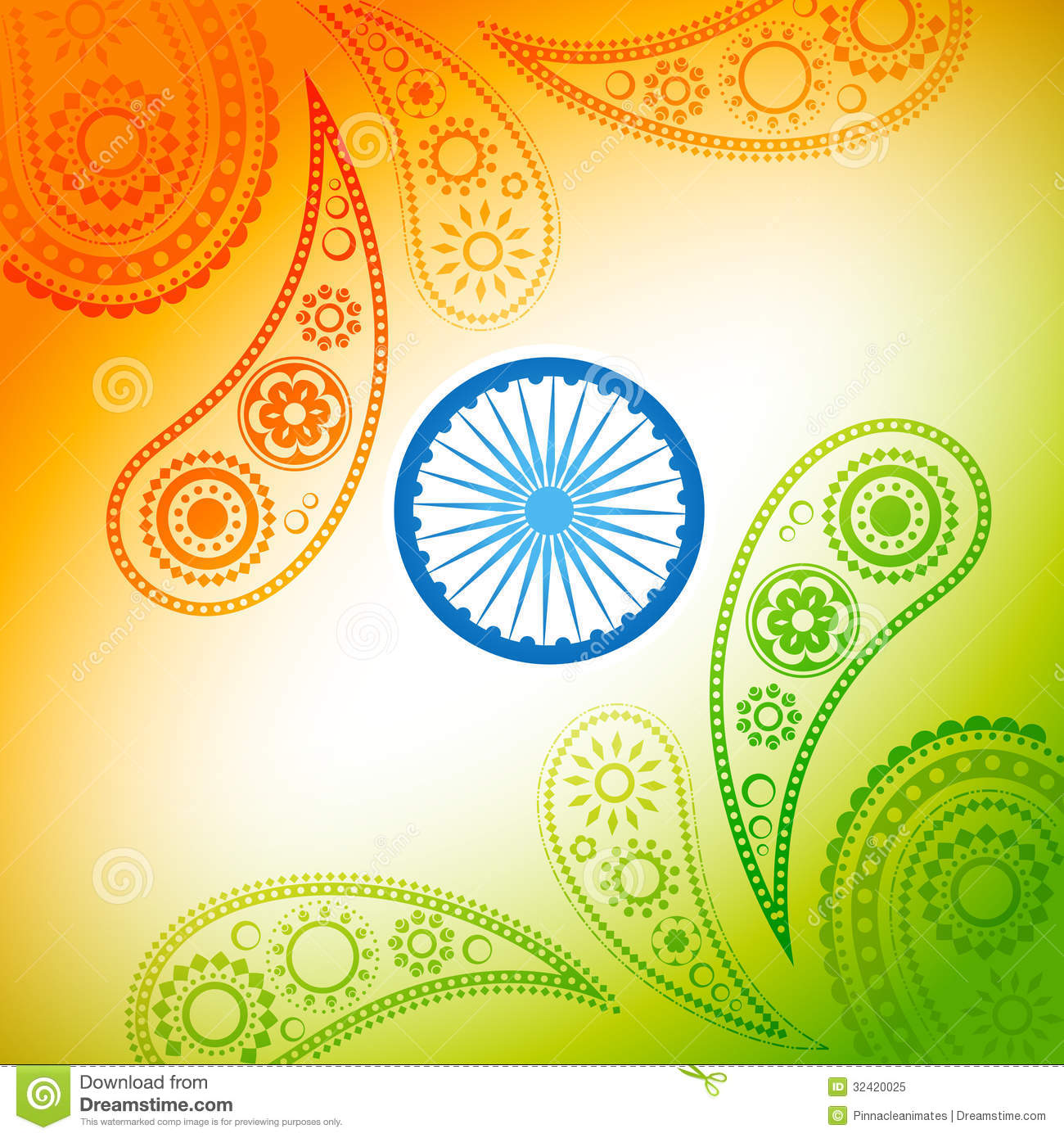 Abstract India Background Royalty Free Stock Image - Image: 36501586