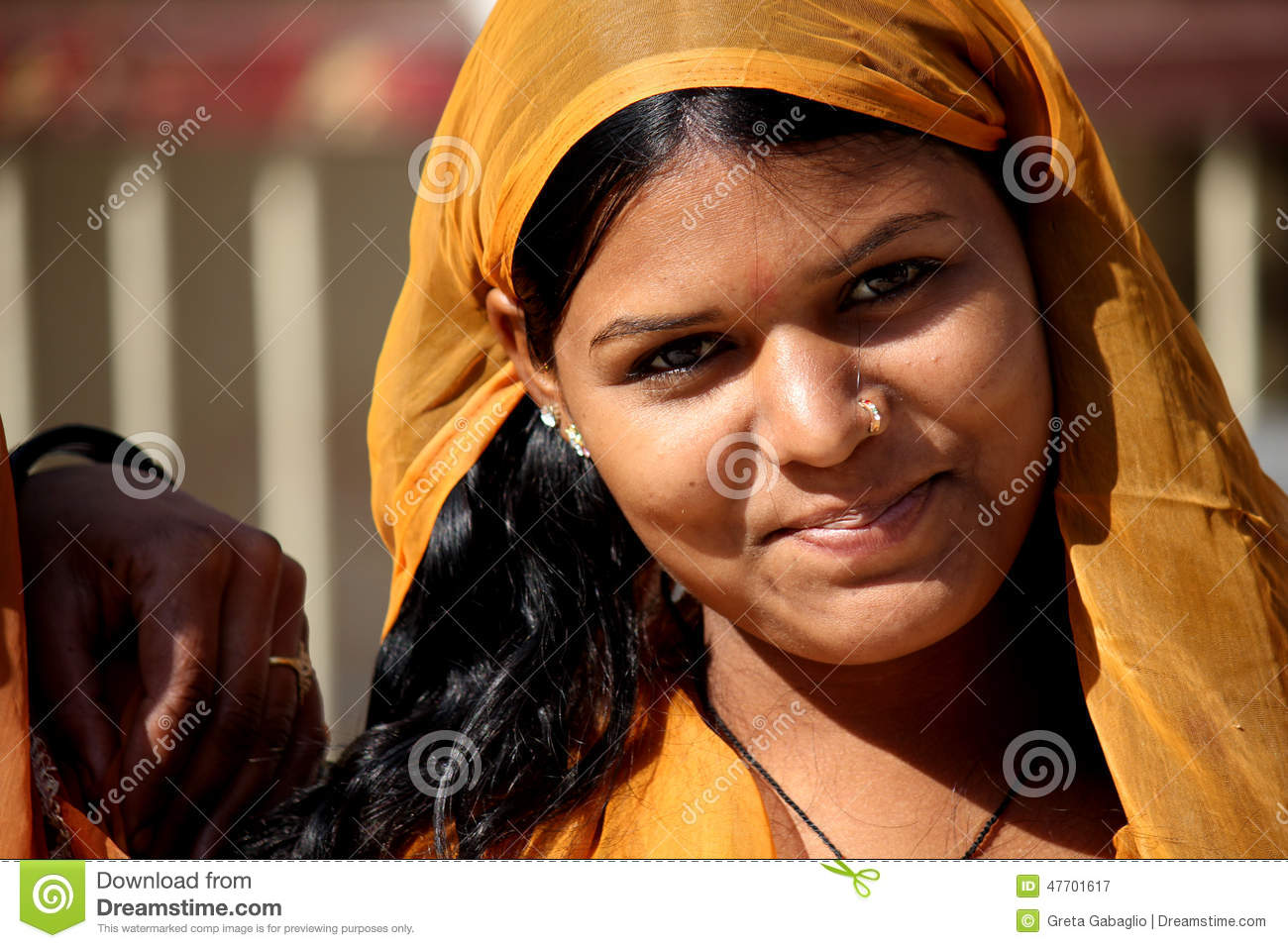 86578738cd Beautiful Indian Girl Portrait Editorial Photography - Image of ...