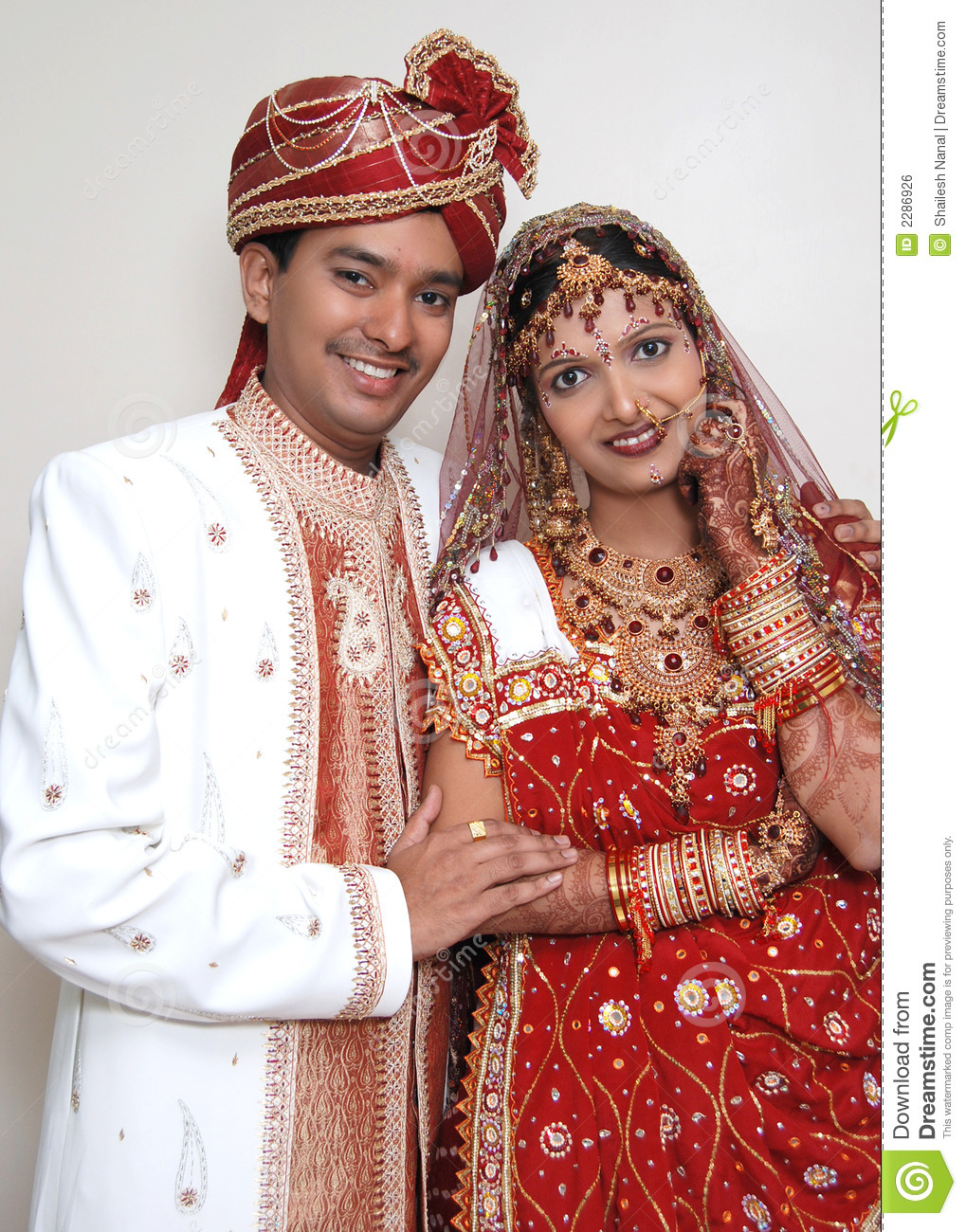 Beautiful Indian Traditions Stock Photo Image Of Posing