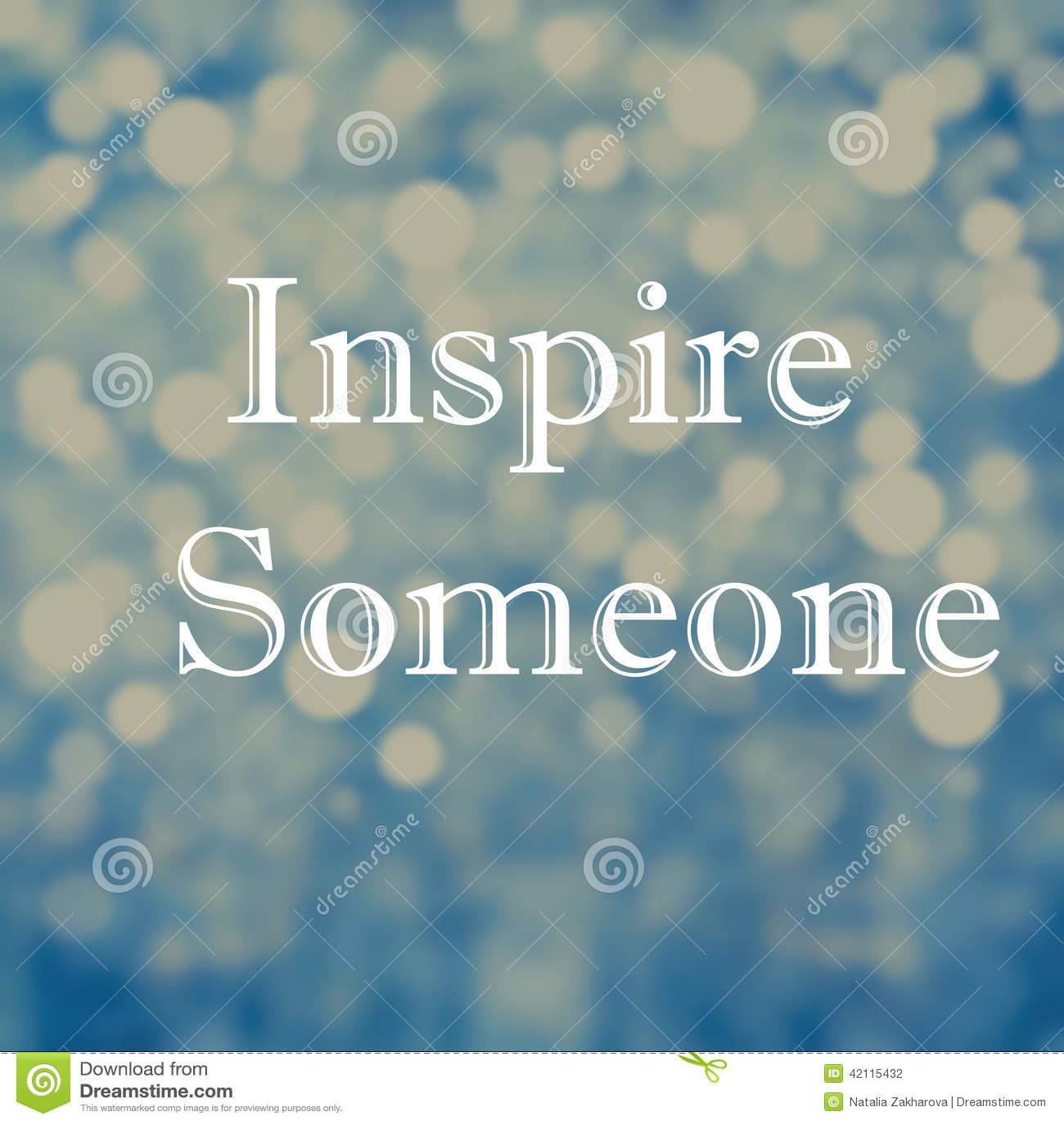 beautiful inspirational motivating quotes on bokeh light