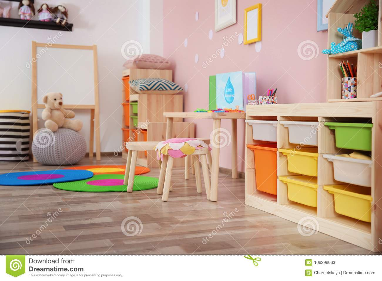 Beautiful interior of game room stock image image of contemporary