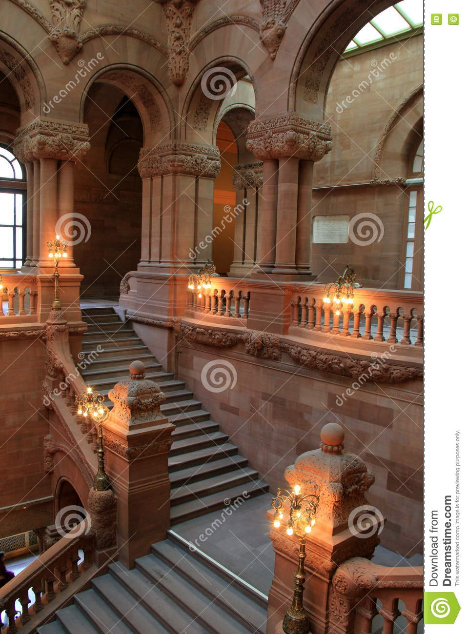 A Tourist at Home: The New York State Capitol - Sweet and ...  State Street Albany Interior
