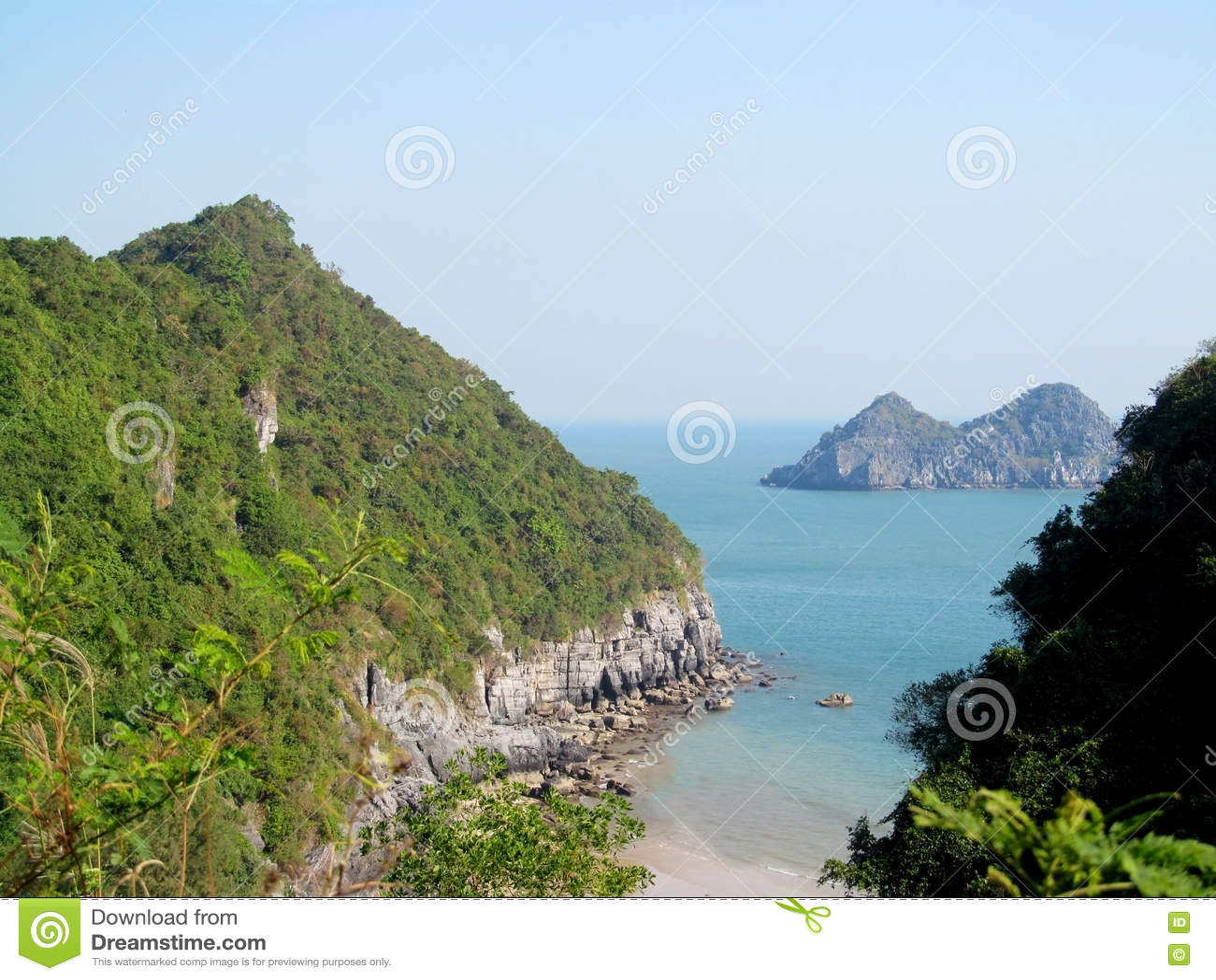 Beautiful islands in the sea