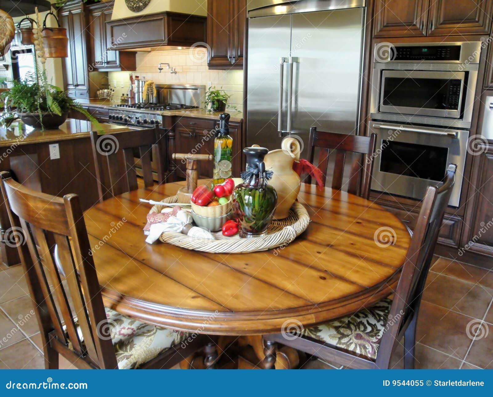 beautiful italian style kitchen stock photos - image: 9544043