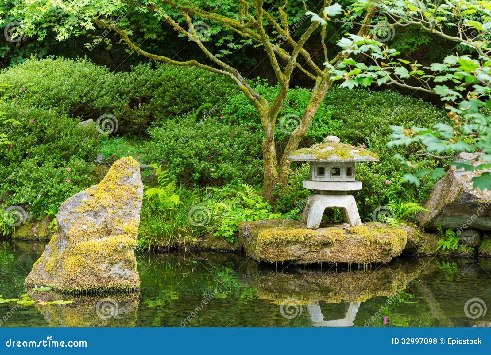 Beautiful japanese garden stock photo image of pedestrian for Amazing japanese zen garden design