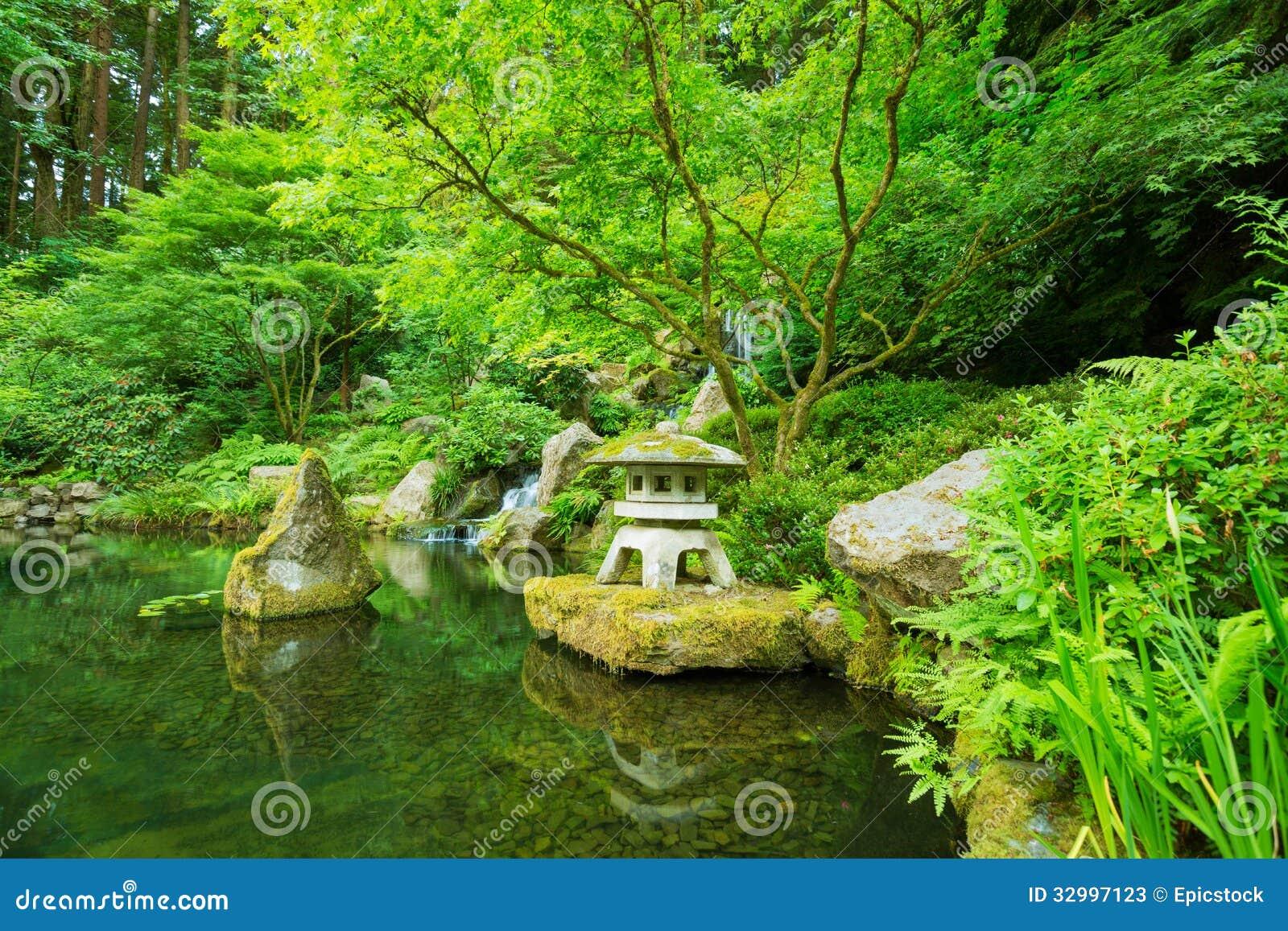 astonishing beautiful zen garden | Beautiful Japanese Garden Stock Photos - Image: 32997123