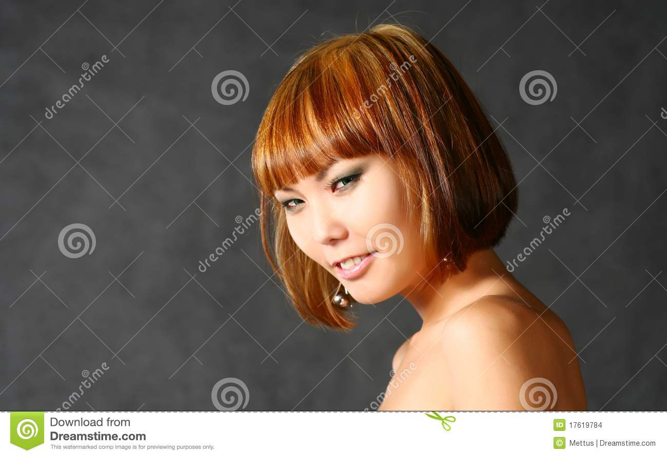 beautiful japanese girl stock photo. image of asia, attractive