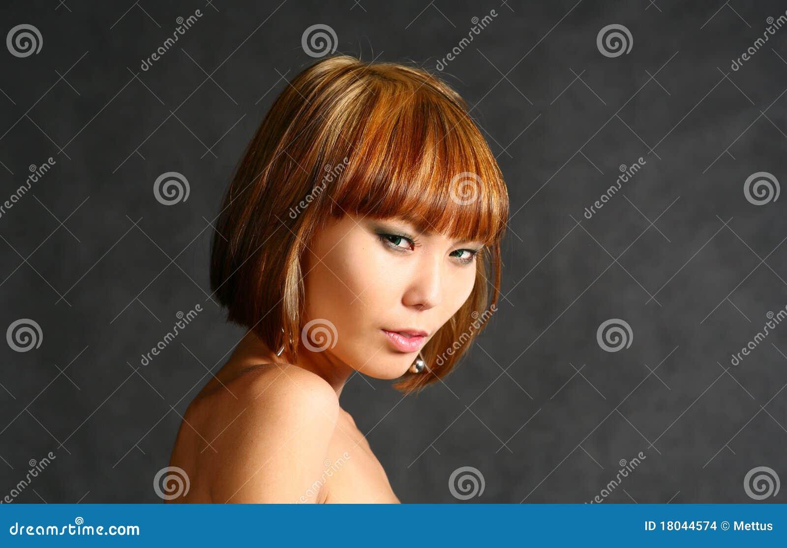 beautiful japanese girl stock photo. image of asia, model - 18044574