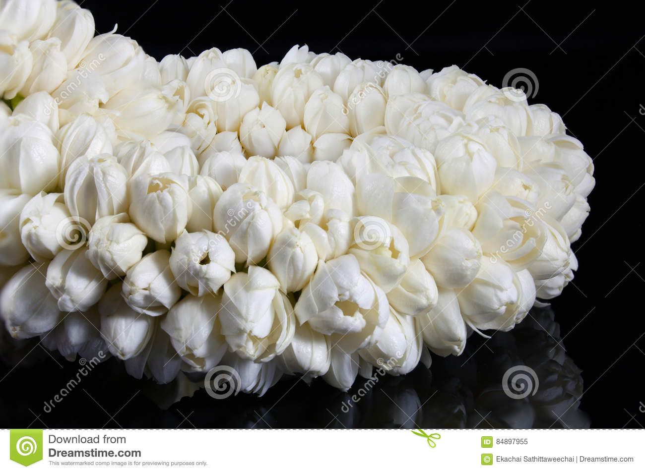 Jasmine rose flowers stock images download 1277 photos beautiful jasmine garland of flowers handmaded royalty free stock images izmirmasajfo
