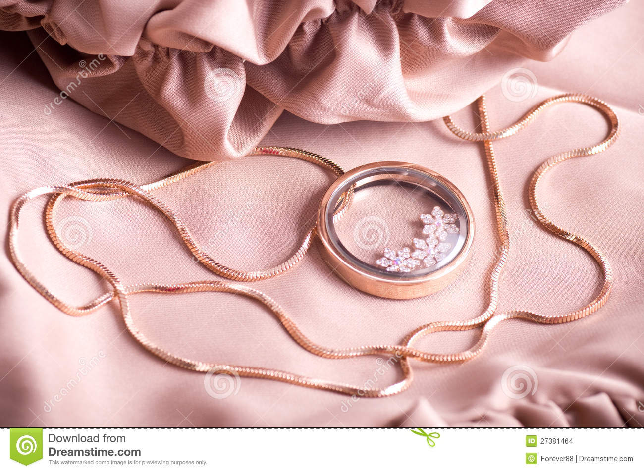 Beautiful jewelry on background,photo for a design.