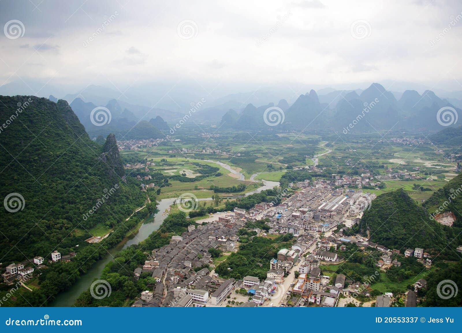 Beautiful Karst Mountain Landscape Royalty Free Stock Photography ...