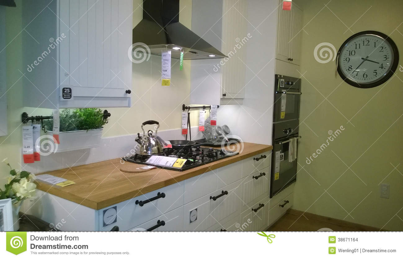 Beautiful Kitchen Design Editorial Stock Image Image 38671164