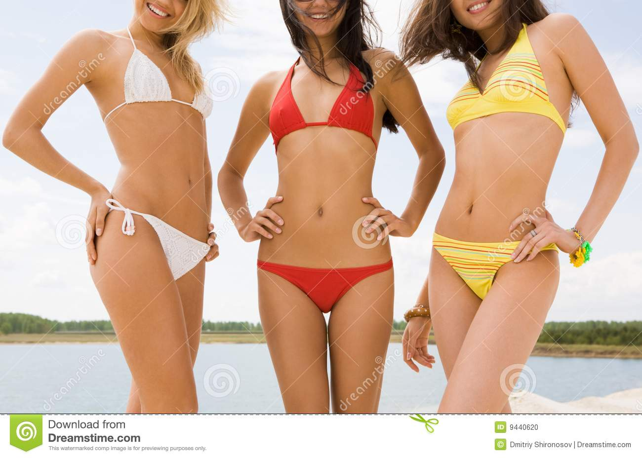 beautiful ladies stock photo image 9440620