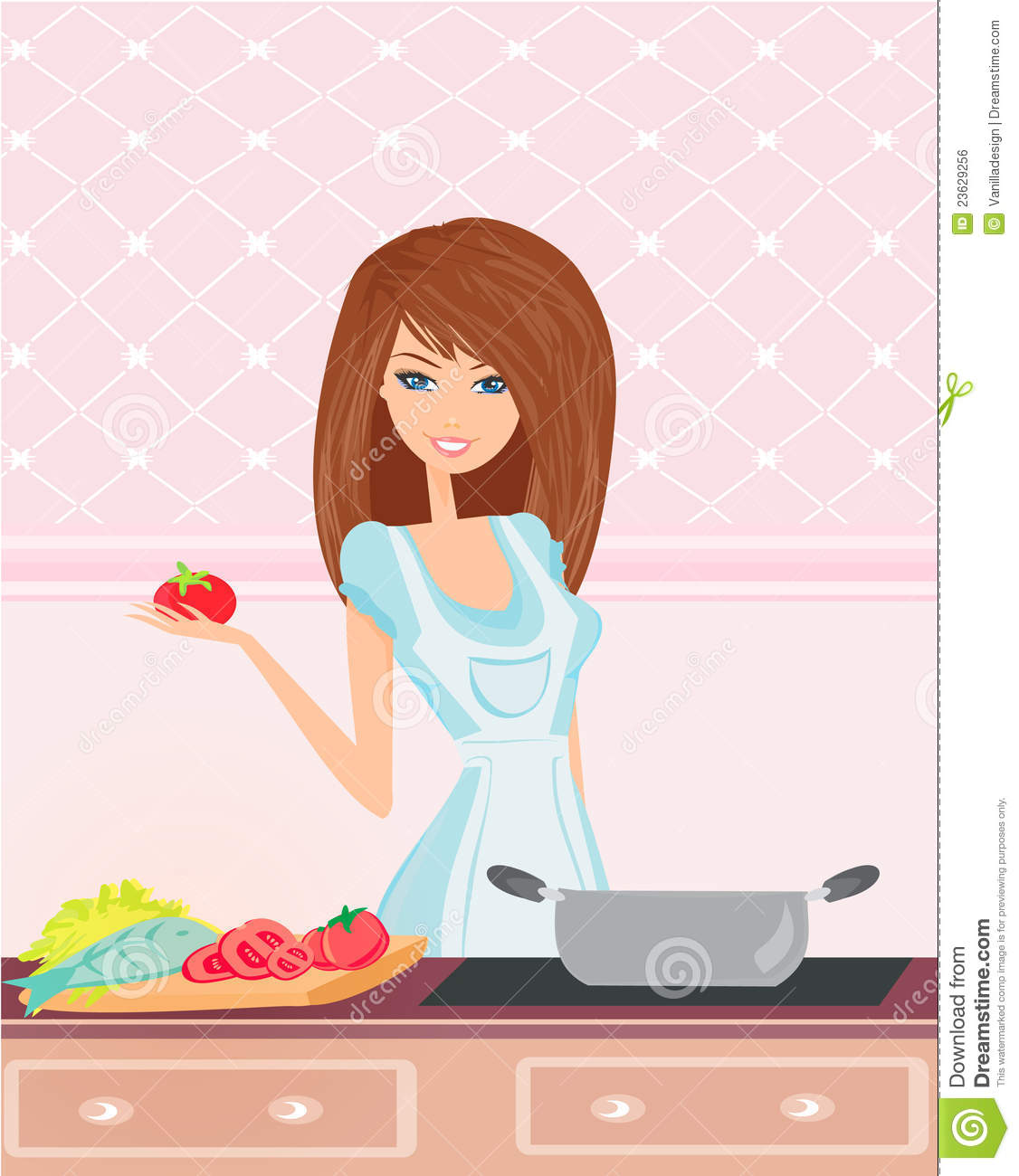 Free Animated Woman Clipart