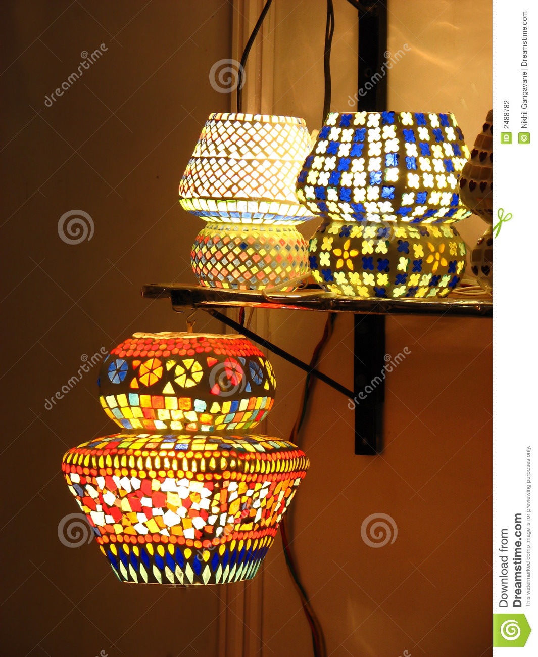 Beautiful Lampshades stock photo. Image of asian, creative - 2488782
