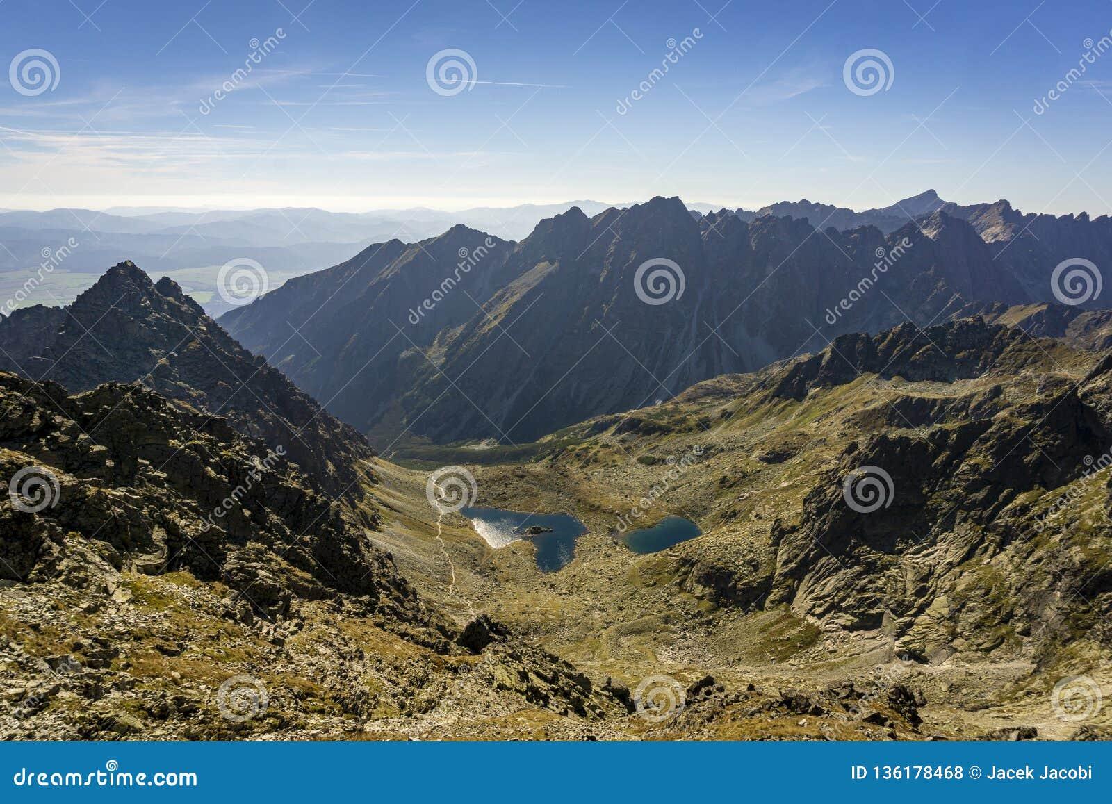 A Beautiful Landscape Of Dolina Zabich Plies High Tatra Mountains Slovakia Stock Photo Image Of Rock Zabich 136178468