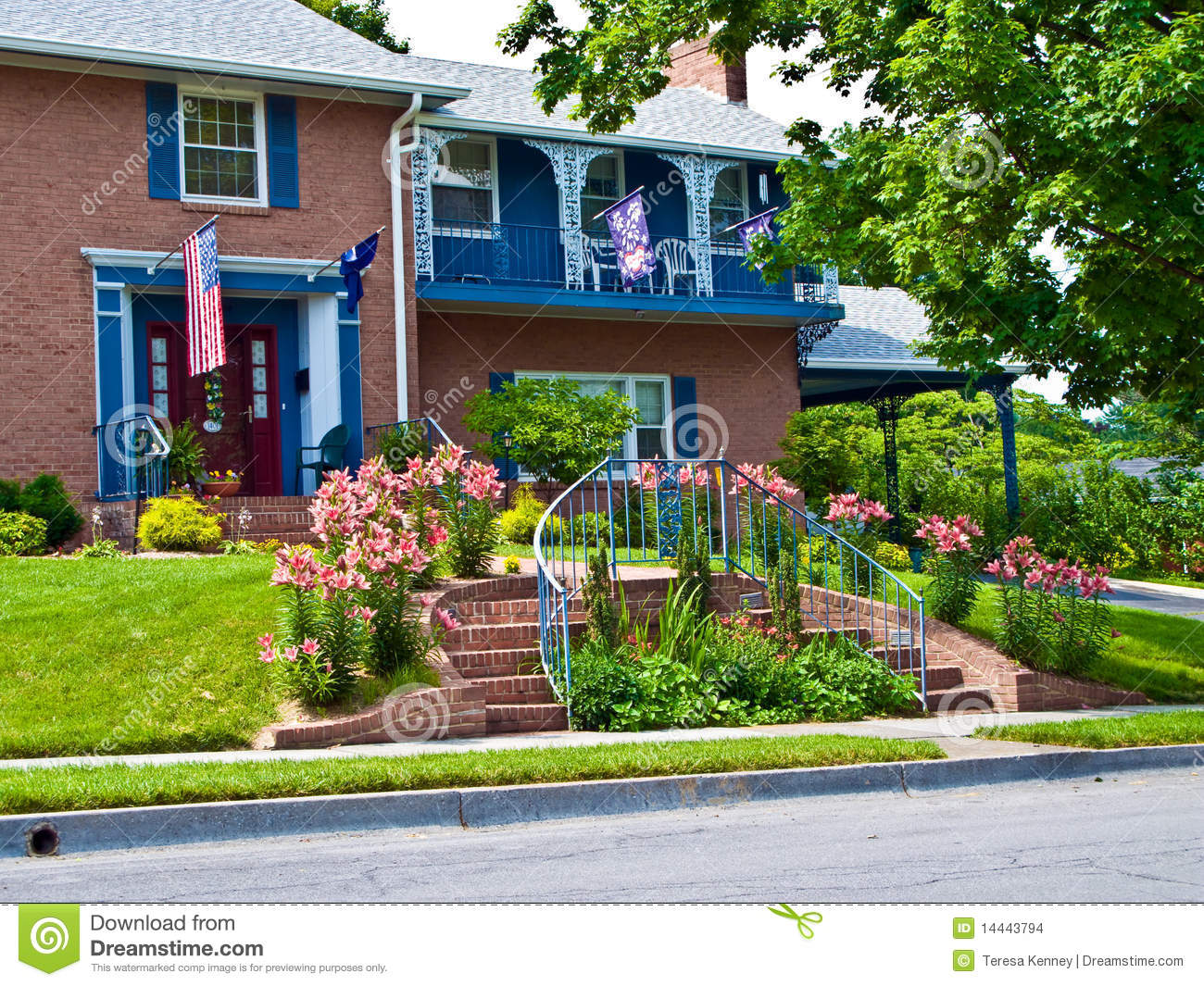Beautiful Landscaping beautiful landscaping stock images - image: 14443794
