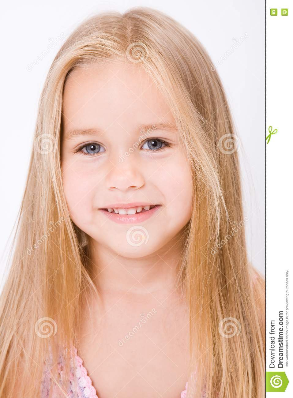Beautiful Little Girl Stock Photo Image Of Pretty, Funny - 10188842-4446