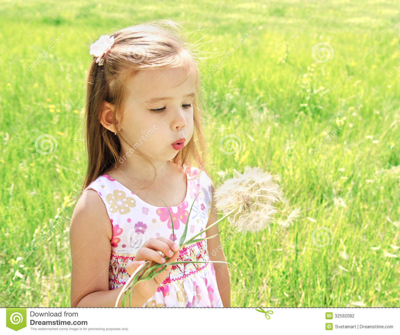 Royalty-Free Stock Photo. Download Beautiful Little Girl ...