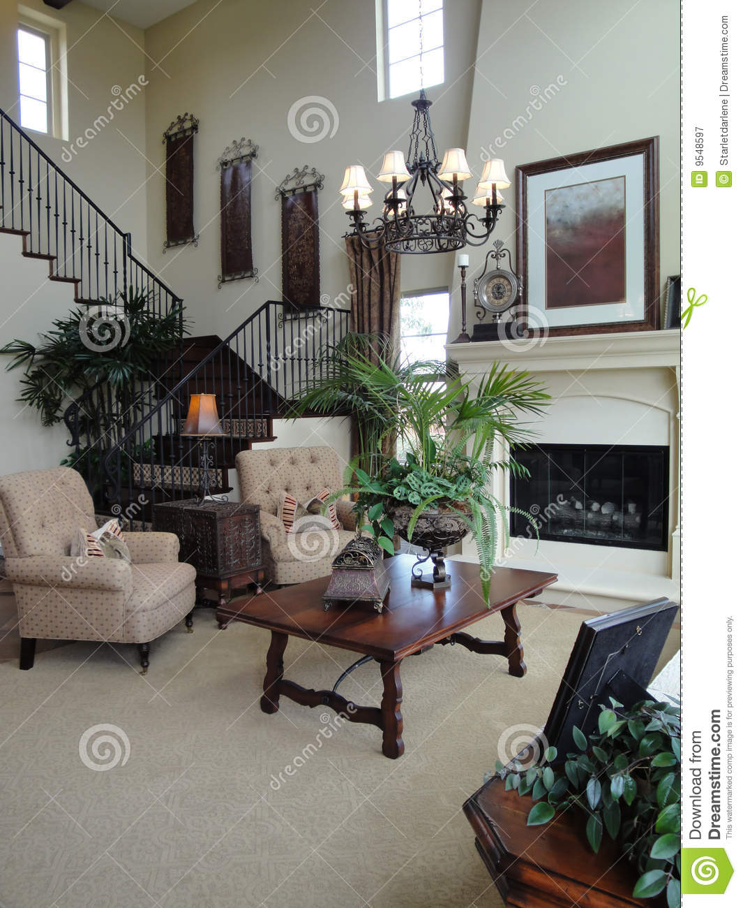 Beautiful living room stock image image of fireplace - Beautiful living rooms with fireplace ...