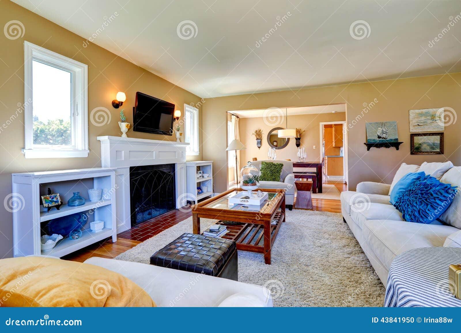 Cozy Living Room Vector Free Download