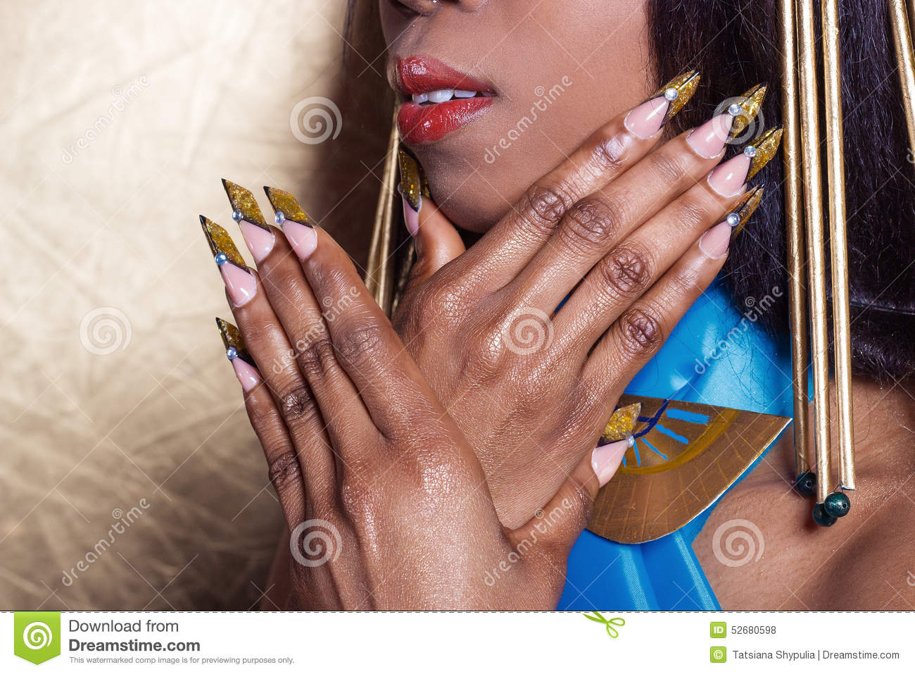 Beautiful Long Designer Nails Nails For Exhibitions French
