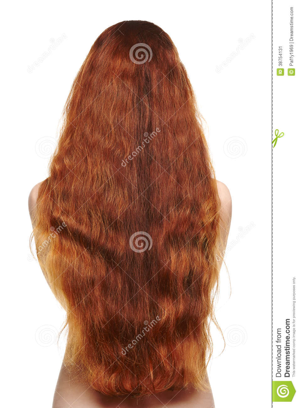 Beautiful Long Red Hair Woman Stock Image - Image 38754131-2927