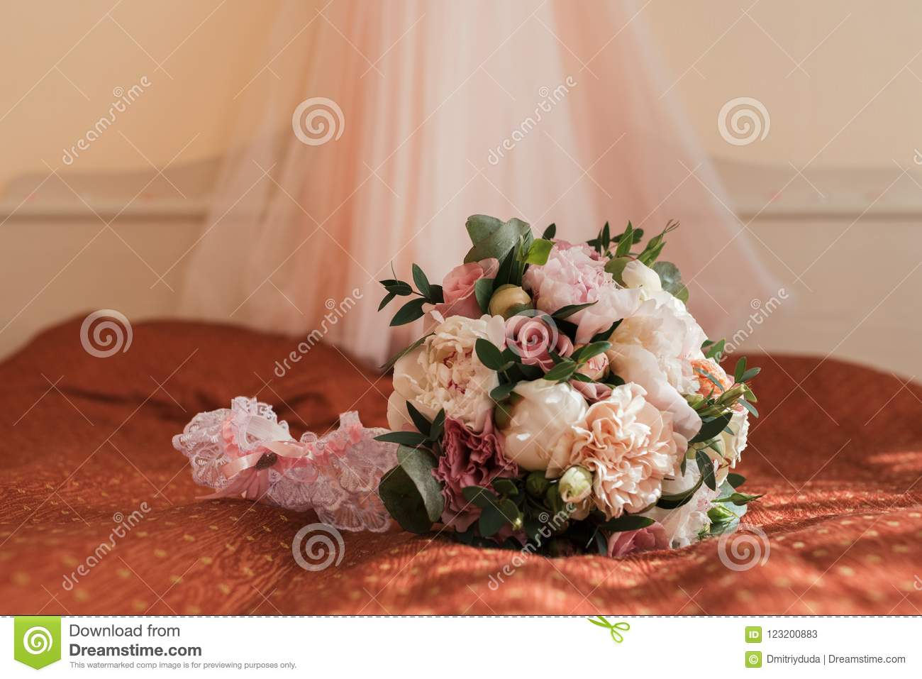 Bed of Roses Bridal Bouquet