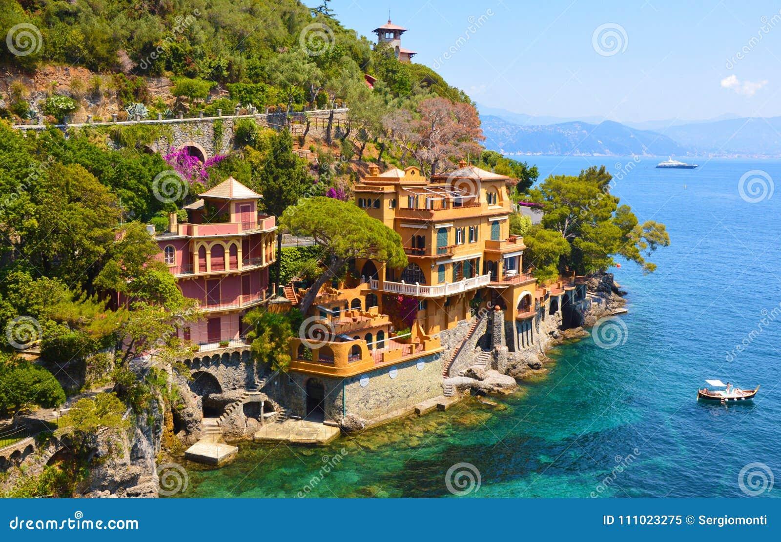 Beautiful Luxury Homes In Portofino Bay, Italy.