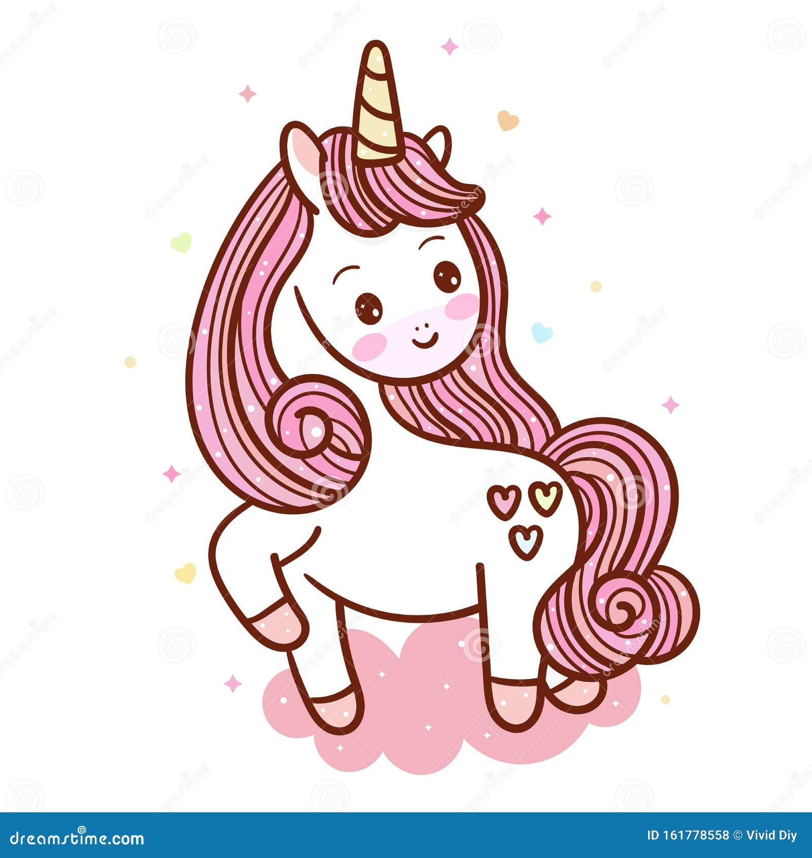 Beautiful Magical Unicorn Funny Horse Wallpaper Kawaii Animal