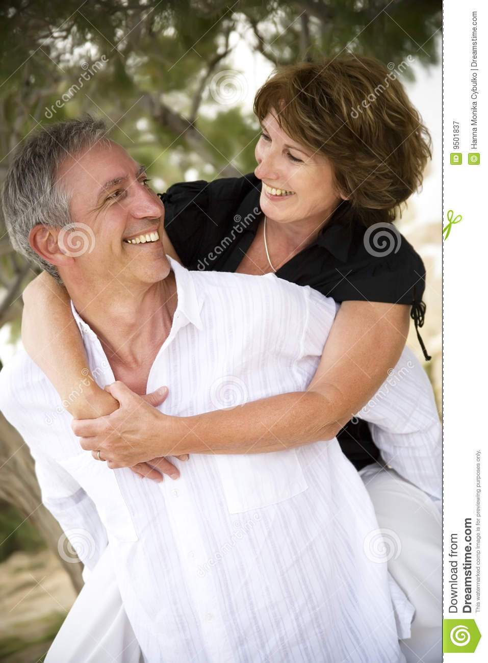 beautiful mature couple in love royalty free stock